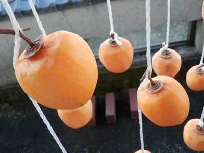 手作り干し柿